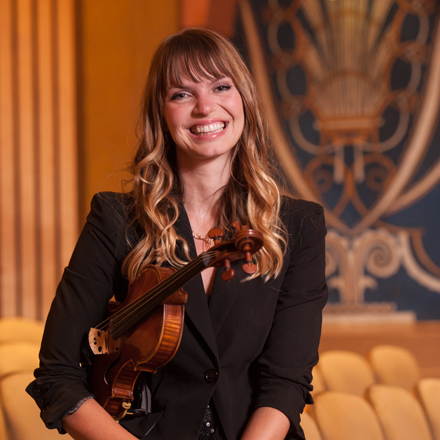 Principal Second Violin<br /> Washington Trust Chair